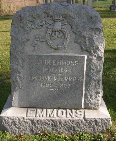 EMMONS, EMELINE M. - Linn County, Iowa | EMELINE M. EMMONS