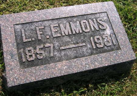EMMONS, L.F. - Linn County, Iowa   L.F. EMMONS