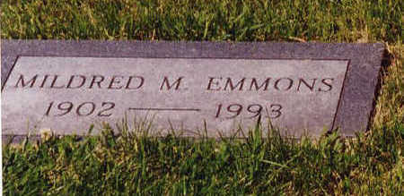 EMMONS, MILDRED - Linn County, Iowa | MILDRED EMMONS
