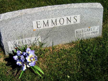 EMMONS, MARGARET J. - Linn County, Iowa | MARGARET J. EMMONS