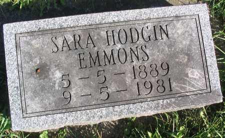 HODGIN EMMONS, SARA - Linn County, Iowa | SARA HODGIN EMMONS