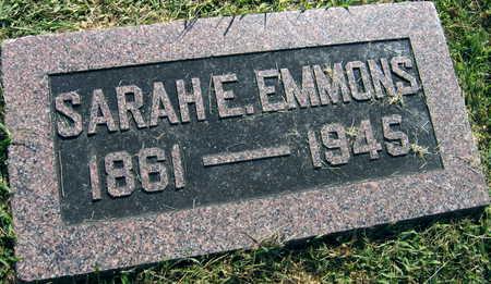 EMMONS, SARAH E. - Linn County, Iowa | SARAH E. EMMONS