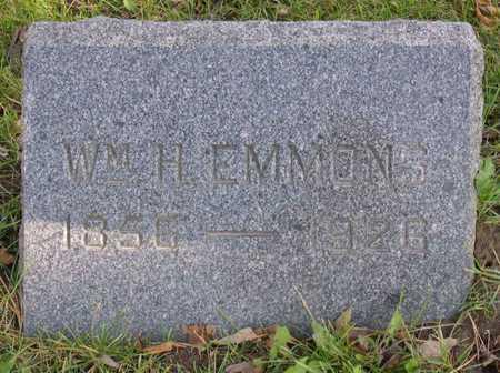 EMMONS, WM. H. - Linn County, Iowa | WM. H. EMMONS