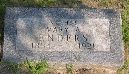 ENDERS, MARY A. - Linn County, Iowa   MARY A. ENDERS