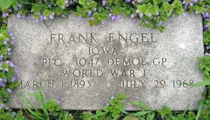 ENGEL, FRANK - Linn County, Iowa | FRANK ENGEL
