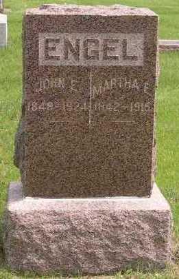 ENGEL, MARTHA - Linn County, Iowa | MARTHA ENGEL