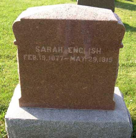 ENGLISH, SARAH - Linn County, Iowa   SARAH ENGLISH