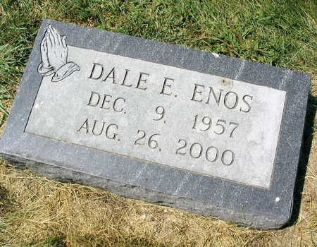 ENOS, DALE E. - Linn County, Iowa   DALE E. ENOS