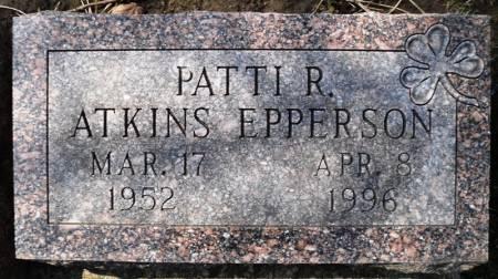 ATKINS EPPERSON, PATRICIA RAE - Linn County, Iowa | PATRICIA RAE ATKINS EPPERSON