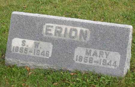 ERION, MARY - Linn County, Iowa | MARY ERION