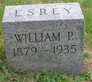 ESREY, WILLIAM P. - Linn County, Iowa | WILLIAM P. ESREY