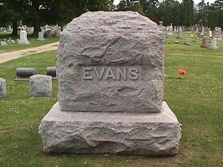 EVANS, FAMILY STONE - Linn County, Iowa | FAMILY STONE EVANS
