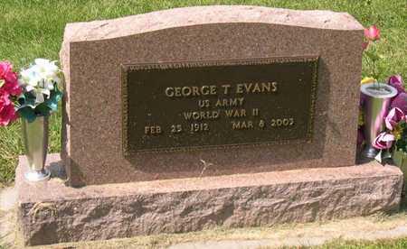 EVANS, GEORGE T. - Linn County, Iowa | GEORGE T. EVANS