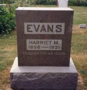 EVANS, HARRIET M. - Linn County, Iowa | HARRIET M. EVANS