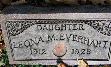EVERHART, LEONA M. - Linn County, Iowa | LEONA M. EVERHART