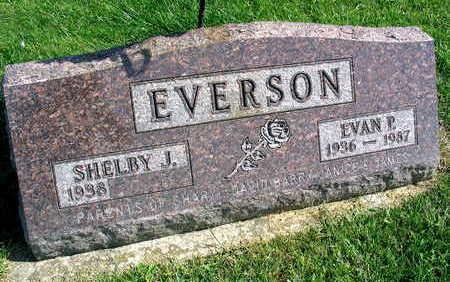 EVERSON, EVAN P. - Linn County, Iowa   EVAN P. EVERSON
