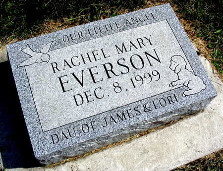 EVERSON, RACHEL MARY - Linn County, Iowa | RACHEL MARY EVERSON