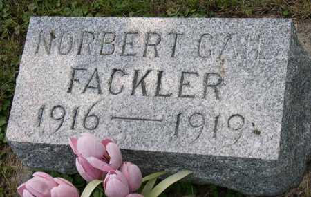 FACKLER, NORBERT GAIL - Linn County, Iowa | NORBERT GAIL FACKLER