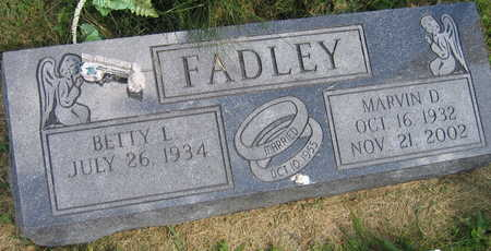 FADLEY, MARVIN D. - Linn County, Iowa | MARVIN D. FADLEY