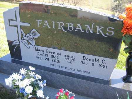 FAIRBANKS, MARY BERNICE - Linn County, Iowa | MARY BERNICE FAIRBANKS