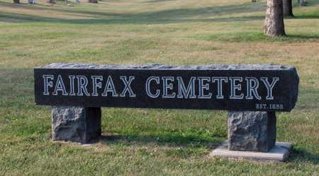 FAIRFAX, CEMETERY - Linn County, Iowa   CEMETERY FAIRFAX