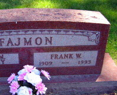 FAJMON, FRANK W. - Linn County, Iowa   FRANK W. FAJMON