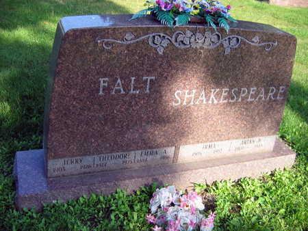 FALT, THEODORE - Linn County, Iowa | THEODORE FALT