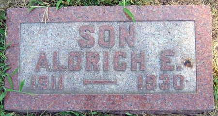 FALTIS LONG, ALDRICH E. - Linn County, Iowa | ALDRICH E. FALTIS LONG
