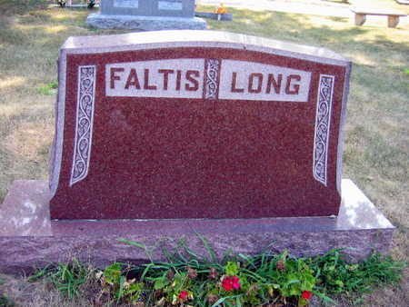 FALTIS LONG, FAMILY STONE - Linn County, Iowa   FAMILY STONE FALTIS LONG