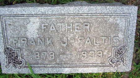 FALTIS, FRANK J. - Linn County, Iowa   FRANK J. FALTIS