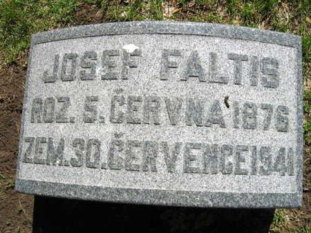 FALTIS, JOSEF - Linn County, Iowa   JOSEF FALTIS