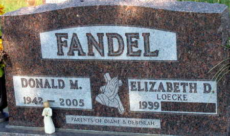 FANDEL, DONALD M. - Linn County, Iowa | DONALD M. FANDEL