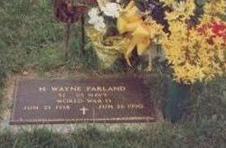 FARLAND, HAROLD WAYNE - Linn County, Iowa | HAROLD WAYNE FARLAND