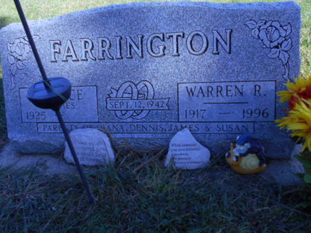 FARRINGTON, WARREN R. - Linn County, Iowa | WARREN R. FARRINGTON