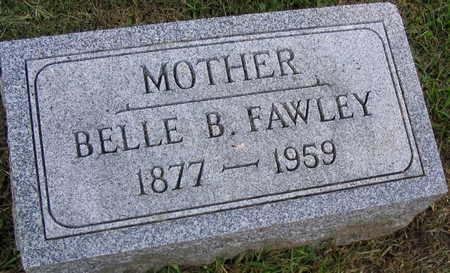 FAWLEY, BELLE B. - Linn County, Iowa | BELLE B. FAWLEY