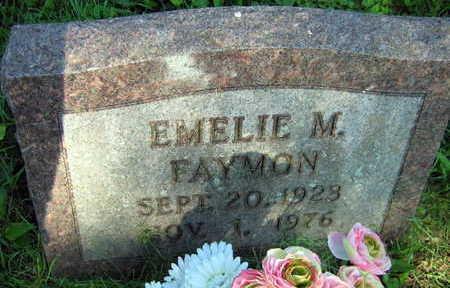FAYMON, EMELIE M. - Linn County, Iowa   EMELIE M. FAYMON