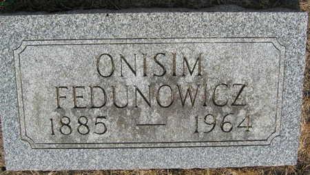 FEDUNOWICZ, ONISIM - Linn County, Iowa | ONISIM FEDUNOWICZ