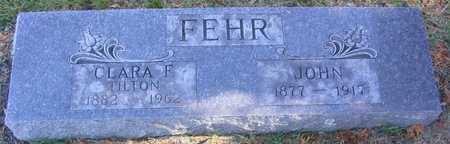 FEHR, JOHN - Linn County, Iowa | JOHN FEHR