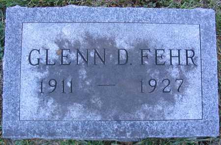 FEHR, GLENN D. - Linn County, Iowa | GLENN D. FEHR