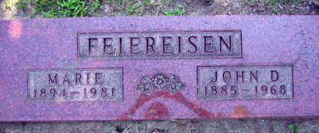 FEIEREISEN, JOHN D. - Linn County, Iowa | JOHN D. FEIEREISEN