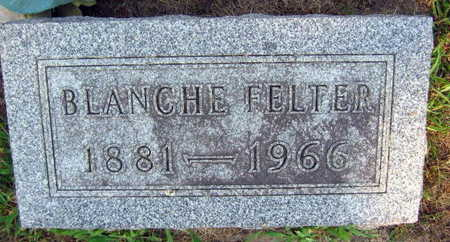 FELTER, BLANCHE - Linn County, Iowa   BLANCHE FELTER