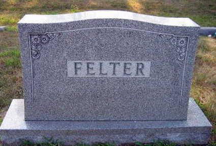 FELTER, FAMILY STONE - Linn County, Iowa | FAMILY STONE FELTER
