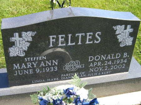 FELTES, DONALD B. - Linn County, Iowa   DONALD B. FELTES