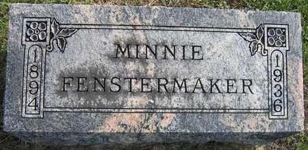 FENSTERMAKER, MINNIE - Linn County, Iowa | MINNIE FENSTERMAKER