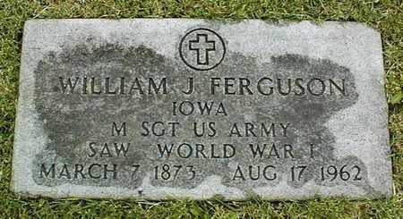 FERGUSON, WILLIAM J. - Linn County, Iowa | WILLIAM J. FERGUSON