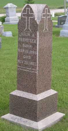 FERRETER, JULIA A. - Linn County, Iowa | JULIA A. FERRETER