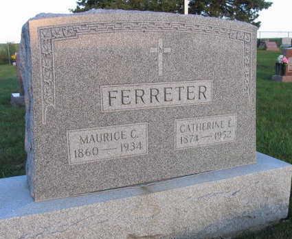 FERRETER, MAURICE C. - Linn County, Iowa   MAURICE C. FERRETER