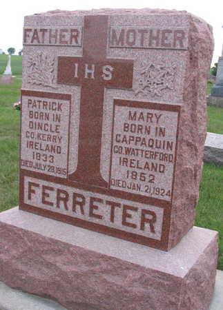 FERRETER, MARY - Linn County, Iowa | MARY FERRETER