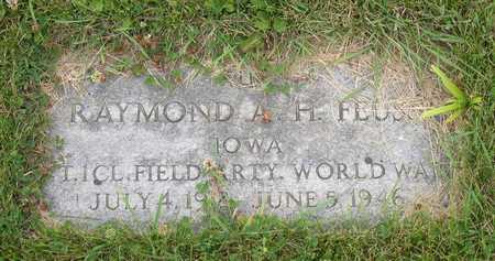 FEUSS, RAYMOND A. H. - Linn County, Iowa | RAYMOND A. H. FEUSS
