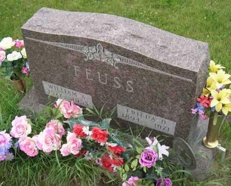 FEUSS, WILLIAM A. - Linn County, Iowa   WILLIAM A. FEUSS